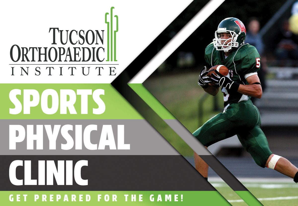 sports physical form tucson  TOI Sports Physical Clinic - Tucson Orthopaedic Institute